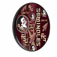 Florida State Seminoles Digitally Printed Wood Clock