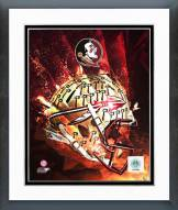 Florida State Seminoles Helmet Composite Framed Photo