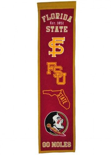Florida State Seminoles Heritage Banner