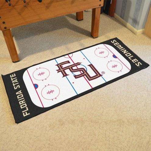 Florida State Seminoles Hockey Rink Runner Mat