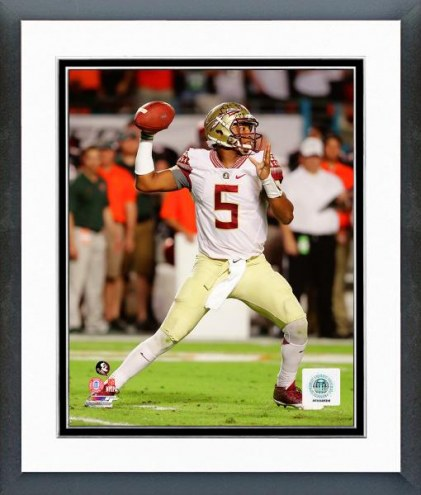 Florida State Seminoles Jameis Winston Action Framed Photo