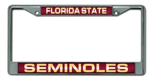 Florida State Seminoles Laser Cut License Plate Frame