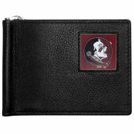 Florida State Seminoles Leather Bill Clip Wallet