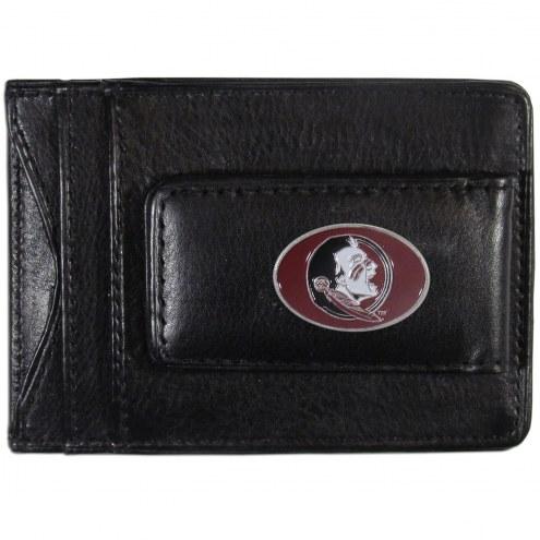 Florida State Seminoles Leather Cash & Cardholder