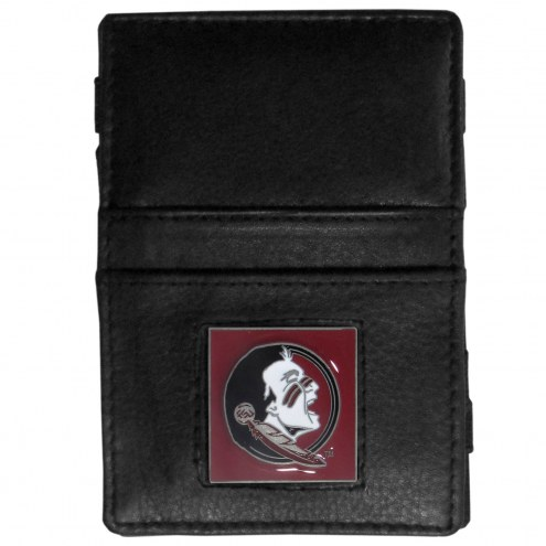 Florida State Seminoles Leather Jacob's Ladder Wallet