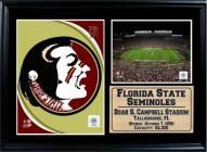 "Florida State Seminoles 12"" x 18"" Photo Stat Frame"
