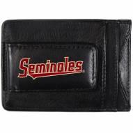 Florida State Seminoles Logo Leather Cash and Cardholder