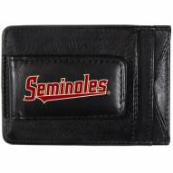 Florida State Seminoles Logo Leather Cash and Cardholder