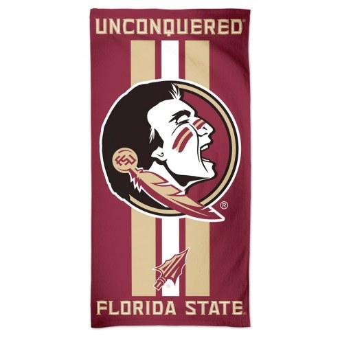 Florida State Seminoles McArthur Beach Towel
