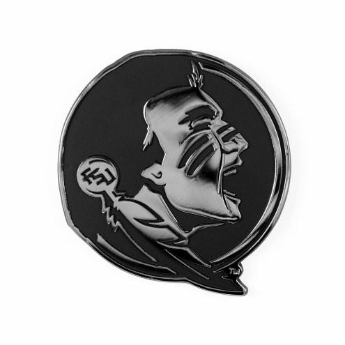 Florida State Seminoles Metal Car Emblem