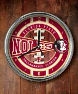 Florida State Seminoles NCAA Chrome Wall Clock