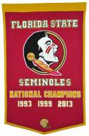 Winning Streak Florida State Seminoles NCAA Football Dynasty Banner