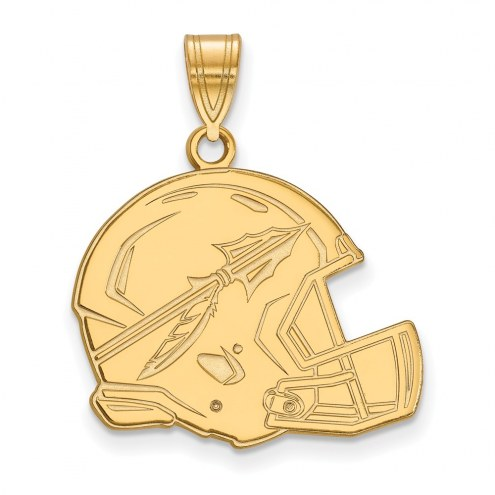 Florida State Seminoles Sterling Silver Gold Plated Large Pendant