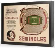 Florida State Seminoles 25-Layer StadiumViews 3D Wall Art