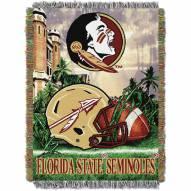 Florida State Seminoles NCAA Woven Tapestry Throw / Blanket
