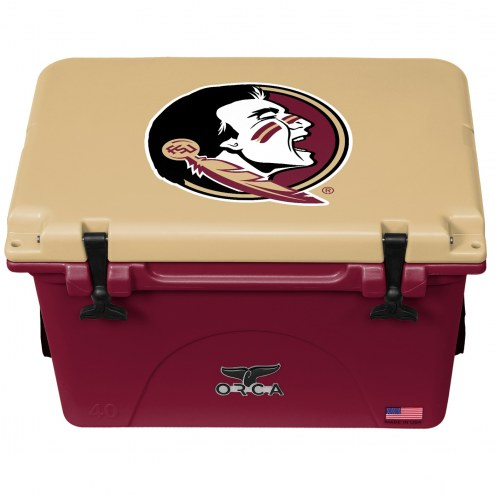 Florida State Seminoles ORCA 40 Quart Cooler