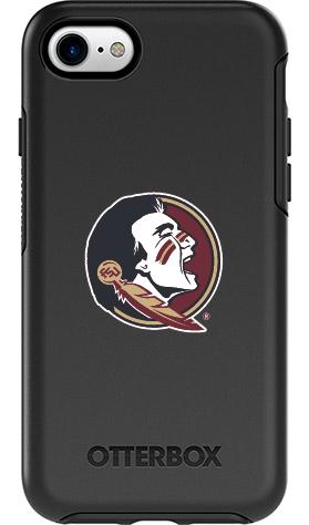 Florida State Seminoles OtterBox iPhone 8/7 Symmetry Black Case