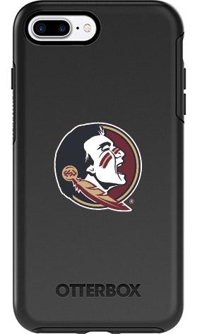 Florida State Seminoles OtterBox iPhone 8 Plus/7 Plus Symmetry Black Case