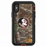 Florida State Seminoles OtterBox iPhone X Defender Realtree Camo Case