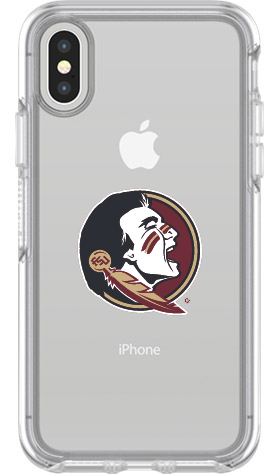 Florida State Seminoles OtterBox iPhone X Symmetry Clear Case