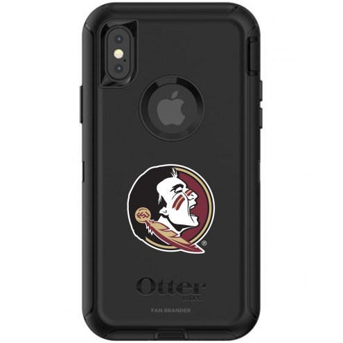 Florida State Seminoles OtterBox iPhone X/Xs Defender Black Case
