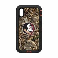 Florida State Seminoles OtterBox iPhone XR Defender Realtree Camo Case