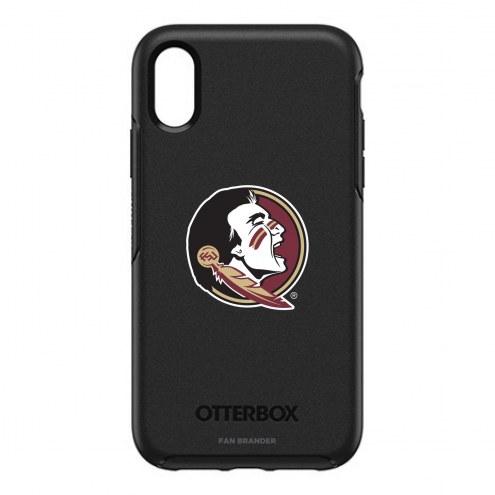 Florida State Seminoles OtterBox iPhone XR Symmetry Black Case