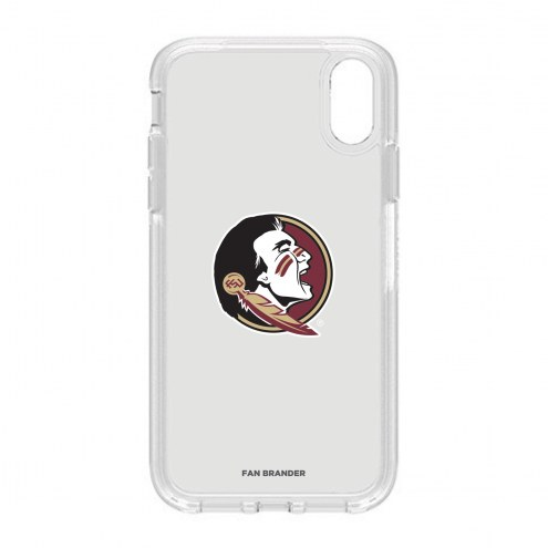 Florida State Seminoles OtterBox iPhone XR Symmetry Clear Case