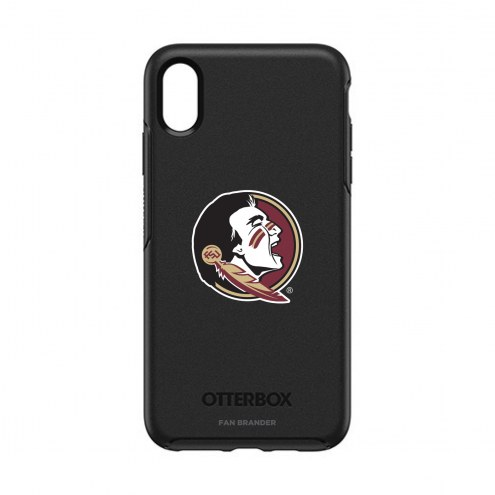 Florida State Seminoles OtterBox iPhone XS Max Symmetry Black Case
