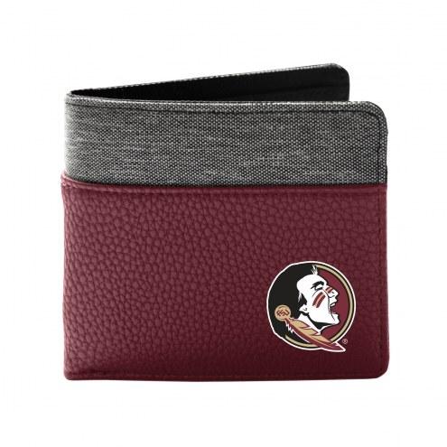 Florida State Seminoles Pebble Bi-Fold Wallet