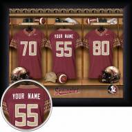 Florida State Seminoles Personalized 11 x 14 Framed Photograph