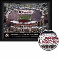 Florida State Seminoles 11 x 14 Personalized Framed Stadium Print