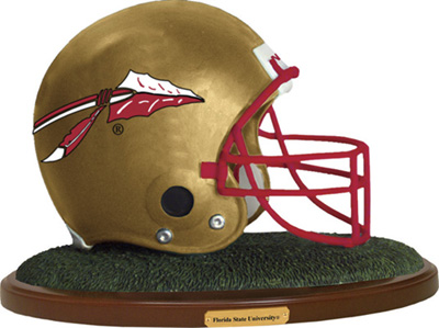 Florida State Seminoles Collectible Football Helmet Figurine
