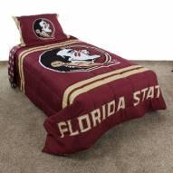 Florida State Seminoles Reversible Comforter Set