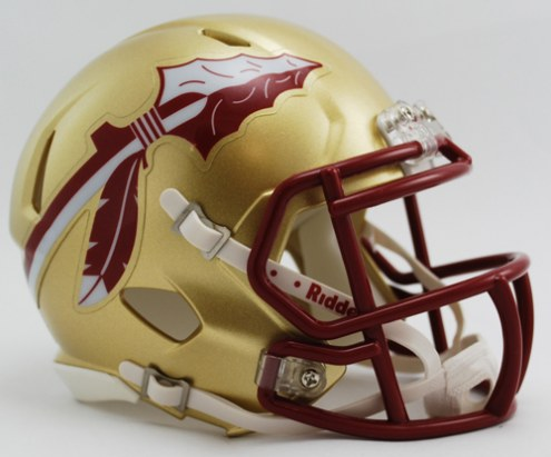 Florida State Seminoles Riddell Speed Full Size Authentic Gold Football Helmet