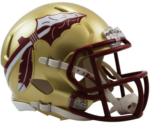 Florida State Seminoles Riddell Speed Mini Collectible Gold Football Helmet