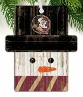 Florida State Seminoles Snowman Ornament