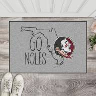 Florida State Seminoles Southern Style Starter Rug