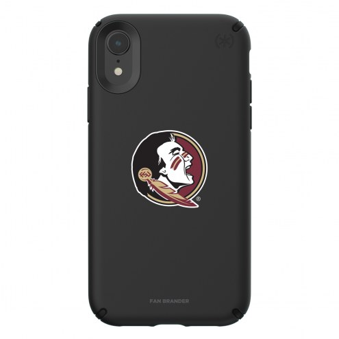 Florida State Seminoles Speck iPhone XR Presidio Pro Black Case