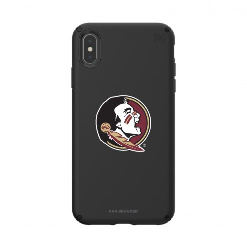 Florida State Seminoles Speck iPhone XS Max Presidio Pro Black Case