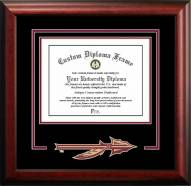Florida State Seminoles Spirit Diploma Frame