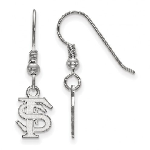 Florida State Seminoles Sterling Silver Extra Small Dangle Earrings