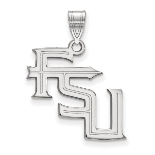Florida State Seminoles Sterling Silver Large Pendant