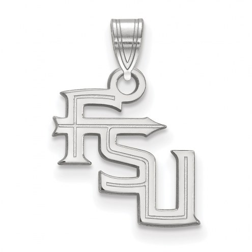 Florida State Seminoles Sterling Silver Small Pendant