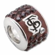 Florida State Seminoles Sterling Silver Charm Bead