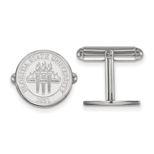 Florida State Seminoles Sterling Silver Cuff Links