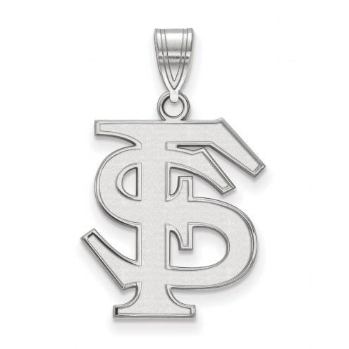 Florida State Seminoles Sterling Silver Large Pendant