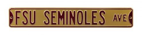 Florida State Seminoles Street Sign