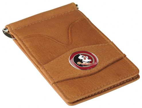Florida State Seminoles Tan Player's Wallet