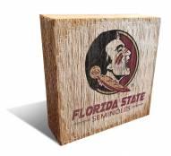 Florida State Seminoles Team Logo Block